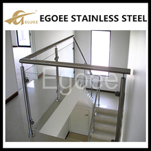 Aluminum balcony railing design /glass railing balustrade for balcony /porch