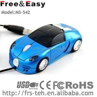 fashion Bugatti type car usb mini wired optical mouse driver