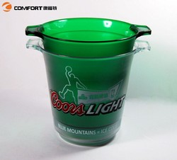 customized your logo plastic jack daniels ice bucket