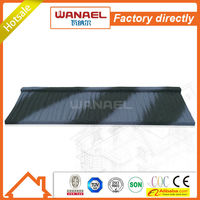 Traditional Factory sale Wanael stone coated metal roof tile/best selling products/louver roof