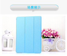 FL393 Silk holster Transparent mate leather case for ipad air