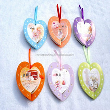 Top quality hot sell Christian gift heart style blessing greeting card