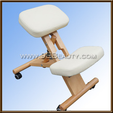 Hot Sell home use office use adjustable wooden kneeling chair