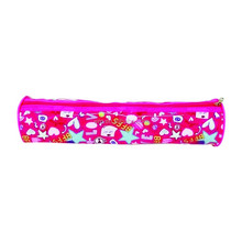PVC pencil bag with cute pattern printing