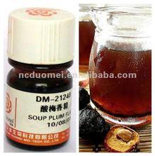 Sour plum flavor for beverage