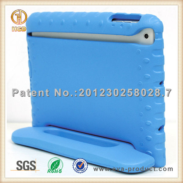 EVA Light Weight Super Protection Convertible rotating stand case for ipad mini