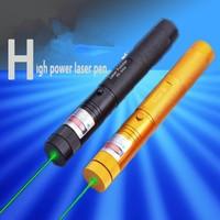 200MW Adjustable Focus Flashlight, Burning Match Lazer,303 Green Laser Pointer