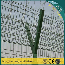 Electric Wire Mesh Fence/ Iron Wire Fence/V-post Security Fence(Factory)