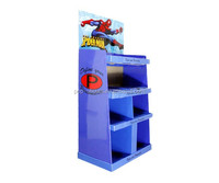 Store saleing cardboard toys display for Lovely popular floor display stand