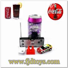 2014 The Most Popular 2015-1A 1:63 4 Channel Coke Can Mini RC Car