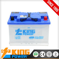 12V DIN Standard dry charged car battery 66AH auto battery 56618