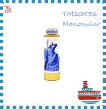 2015 Fashion Ceramic Decoration for Home Creamic CraftS Telescope Monocular 20x36