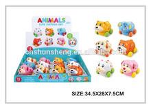 nuevos pequeños juguetes de fricción coche de dibujos animados juguetes de los animales