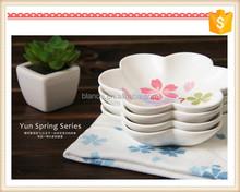 modern design flower shape dish