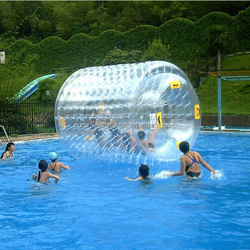 2015 Best popular inflatable water roller, durable floating water wheel for kid and adult in water pool