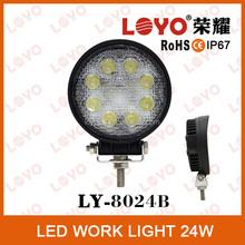 Big sale auto LED work light, IP67 LED driving light, LED work light 24w