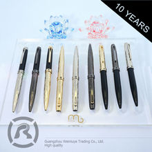 Free Samples Superior Quality Simple Style Counter Ball Pens As Gift