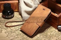 2015 leather belt clip flip wallet case for iphone 5 with card slot