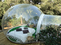 2015 New design inflatable clear tent,inflatable bubble camping tent,inflatable bubble tent