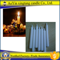 Stick white candles/christmas candle for decoration +8613126126515