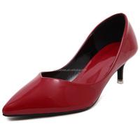 women fashion shoes hot sale women shoes/cheap middle-ages women shoes