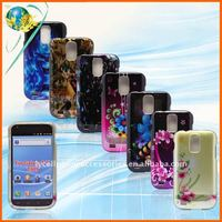 For Samsung Galaxy S II T989 glossy crystal design mobile phone case cellphone covers