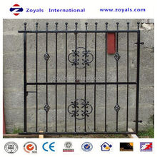 2015 Fashion fence:1.8mx2.4m ornamental steel fence with competitive
