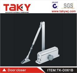 TK-D061B 162*19cm dimension alumium heavy duty door hinge