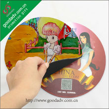 China manufacture custom advertising cartoon games mouse mat rubber