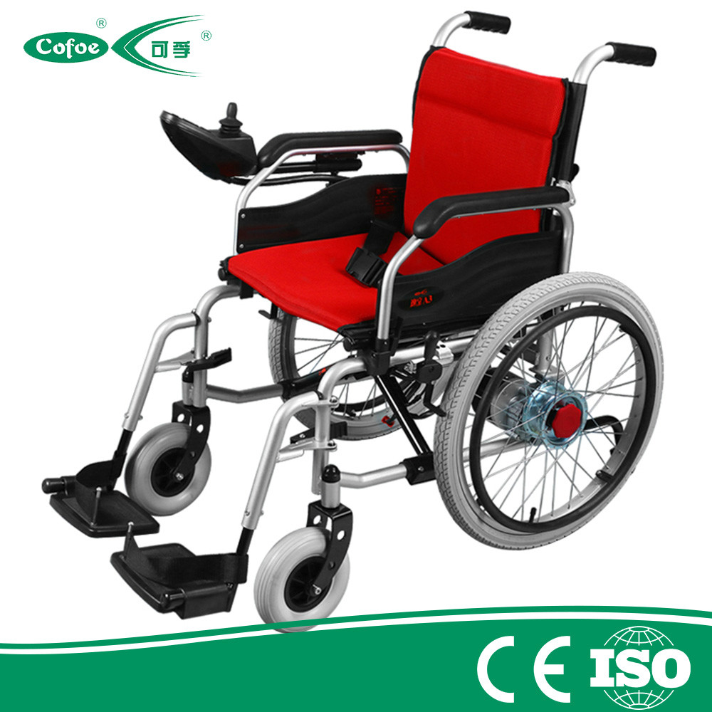 Lightweight Power Folding Aluminium Electric Wheelchair
