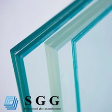clear glass laminated 2140x3300mm, thickness 6.38, 8.38, 10.38, 12.38