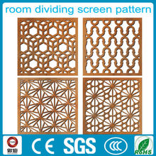 classic red copper color room aluminum divider design factory