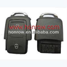 High quality VW 2 Button remote control 1J0 959 753 AG with 433MHZ& remote key case & auto key blank& VW keys