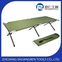 Green Portable Folding Cot Camping Military Hiking Medical Bed