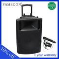 portable 15 polegadas woofer fm 12v palestrantes classe d amplificador de áudio