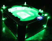 Party mood for you 5 person outdoor spa swim with LED light