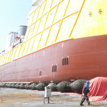 D1.8m x L12m Salvage Marine Airbag for ship launching,lifting, upgrading / rubber ship airbags