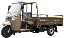 3 wheel motor tricycle for cargo with cabin and 175c engine