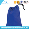 Wholesale OEM Custom Logo Printed Cotton Fabric small drawstring bags