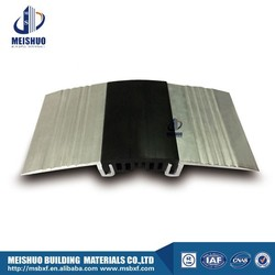 Flush thinline floor elastic rubber expansion joints in rcc buildings