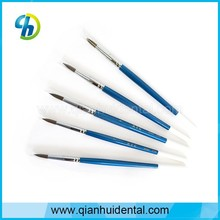 dental ceramic brush pen, Dental lab laboratory material Porcelain brush pen