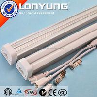 Linear T5 LED Integrative Double Tube 1-8ft 8-60w long lifespan t5 fluorescent lamp ETL DLC TUV SAA