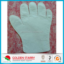 Disposable Needle Spunlace Nonwoven Wash Gloves For Desk/Floor/Window Glass/Toilet/Car