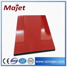 aluminium panels China Red 3mm Pe Aluminum Ceiling Panel decorative painting design