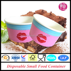 15oz Single Wall Disposable Small Food Container With Lid