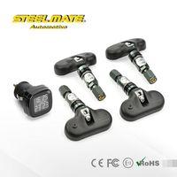 2015 steelmate TP-71 PI portable digital tire pressure gauge,wireless temperature monitoring system,3 wheel car parts