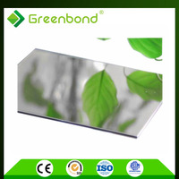 Greenbond PVDF/PE coating acp new innovation building material