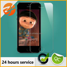 9H 0.33 and 0.026mm thickness round corner tempered glass Screen Protector Cover Guard Shield for cell phone all size