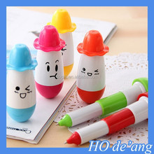 HOGIFT wholesale retractable ballpoint pen/Top ballpoint pen/Hat cartoon pills ballpoint pen