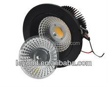 Residential round cob led ceiling light new model downlight led donwlight 12w